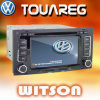 フォルクスワーゲンTouareg W2-D9200VのためのGPSのWitson車のDVDプレイヤー