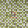 Mosaico fresco verde mela della decorazione della parete di vetro (CFC145M)