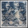 Bordado tecido tela Amarrar-Tingido da flor da tela do bordado do ilhó do bordado