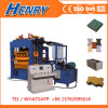 Prezzo idraulico completamente automatico della macchina per fabbricare i mattoni del lastricatore del blocco in calcestruzzo Qt4-15 nel Kenia