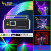 discoteca Ceremony Stage Light Show del DJ della luce laser di 2.4W RGB Full Color Animation