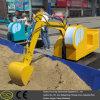 Электрическая квадратная игрушка землечерпалки для малыша