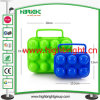 6 scanalature e 12 Slots Plastic Egg Box