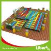 Liben Large Indoor Trampoline Park con Foam Pit