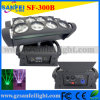 8X 10 Watt Quad LED Moving Head Effect Light