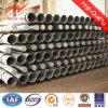 220kv Round 20m Steel Galvanized Electric Pole Parts