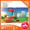 Kind-Spielplatz-im Freiengeräten-Garten-Plättchen
