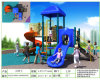 Playground di Kaiqi Small Plastic Children con Slides (XSBN0602S)