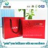 Glatter lamellierter verpackender Papierdrucken-Geschenk-Beutel für Kosmetik