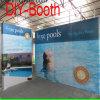 Портативная многоразовая разносторонняя прямая стойка индикации фона графиков PVC формы для выставки