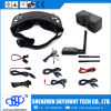 Hubsan X4 H107D Fpv Quadcopter 5.8GHz TransmitterのためのSkyzone Fpv 3D 40CH Diversity Aio Video Goggles Sky02