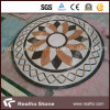 마루를 위한 둥글거나 정연한 대리석 돌 물 분출 패턴 또는 큰 메달