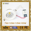 10W LED Downlight con CE&RoHS
