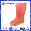 Neue rote wasserdichte Schuhe Belüftung-Aufladung für Dame (TNK60014)