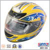 照るYellow Full Face MotorcycleかMotorbike Helmet (FL107)