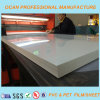 Hoja brillante blanca rígida del PVC para la impresión en offset