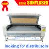 80With100W Dual máquina de estaca do laser das cabeças para lãs com Ce FDA