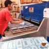 Cortadora automática de alta velocidad de la caja plástica de Hg-B60t