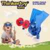 Brinquedos plásticos educacionais dos blocos de apartamentos da fonte de escola