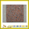 Outdoor Flooringのための炎にあてられたMaple Red Granite Tile