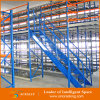 Entresuelos de acero de la plataforma del almacén para trabajos de tipo medio que dejan de lado