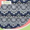 Spitze-Gewebe-Markt Dubai-milchiges Polyester-im chemischen Spitze-Gewebe