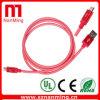 Cavo della carica di sincronizzazione del nylon del tessuto Braided del USB del micro cavo del USB della rete da pesca micro