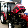 Cabinの60HP 4WD TractorのセリウムCertificate Best Sale
