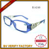R14249 Plastic Women Readimng Glasses mit Metal Decoration