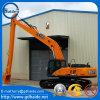 Braço longo do crescimento do alcance da máquina escavadora de Sany Sy305c 18 medidores com o 0.4 Cum a cubeta
