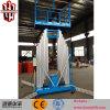 Подъем человека рангоута 10m Ce электрический гидровлический алюминиевый вертикальный
