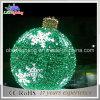 grande indicatore luminoso esterno della decorazione di festa della sfera rotonda di natale LED di 120cm
