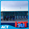 Football Pitch를 위한 8 사람 Premier Soccer Dugout Seating/Portable Team Shelter