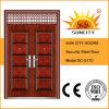 Conceptions décoratives de trappe de fer de trappe de porte (SC-S170)