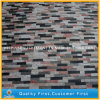 Colore rosso/Black/White Quartz Culture Stone per Wall Cladding