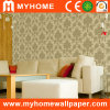 PVC Embossed Wallpaper avec Floral Patterned