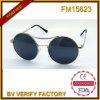Polariod 렌즈를 가진 FM15623 고품질 금속 포도 수확 색안경