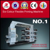 Hochgeschwindigkeitsc$sechs-farbe Flexo Drucken-Maschine
