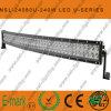 barra ligera curvada CREE de 240W LED LED del punto del camino/de la inundación/de la barra ligera combinada del LED de la conducción del camino