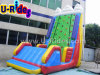 Inflatable blu Water Rock Climbing Wall per Seashore