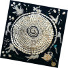 fashion Printed Square Silk 숙녀 스카프 (HC004-1)