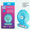 LED Light를 가진 Handfan Hf307 USB Mini Battery Operated Fan