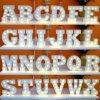 Muestra de la carpa de letra del alfabeto de la letra LED aZ la vendimia