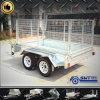 機械装置の輸送の農場のケージのトレーラーによって要される価格競争が激しい