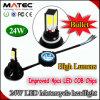 Direttamente lampadine del faro del motociclo LED della fabbrica H4 H7 H6