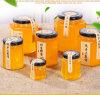 蜂蜜の込み合いのためのStglassの記憶Jar&Bottle 25 50 100 150 380 500 1000ml 6側面の六角形のガラス瓶