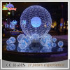 최신 Selling 3D Motif Christmas Giant 산타클로스 Decoration Light