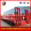 세 배 Axle 60mt, 60tons Low Bed Semi Trailer