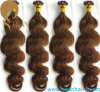 Cheveu indien de kératine de cheveux humains de Remy d'enroulement neuf d'offre