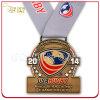 Medalha macia chapeada bronze do esmalte da antiguidade do campeonato do rugby